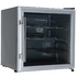LEC DF50GC Black & Silver Wine / Beer Fridge